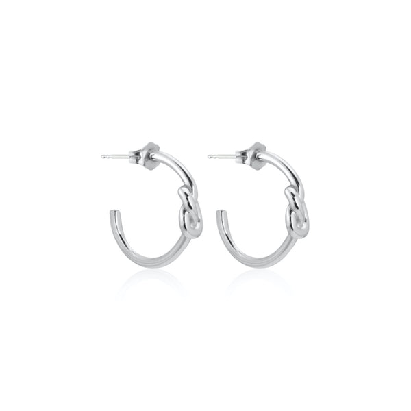 CLASSIC KNOT HOOPS