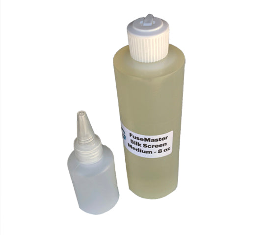 FuseMaster Silk Screen Medium for Enamel and Fog - 8 oz bottle, with Bonus!
