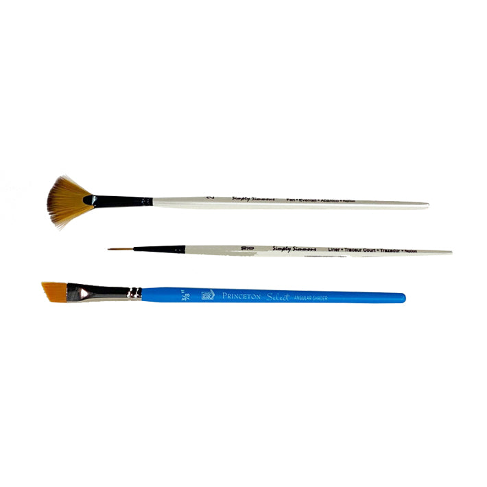 Paint Brushes - set of 3 texture brushes