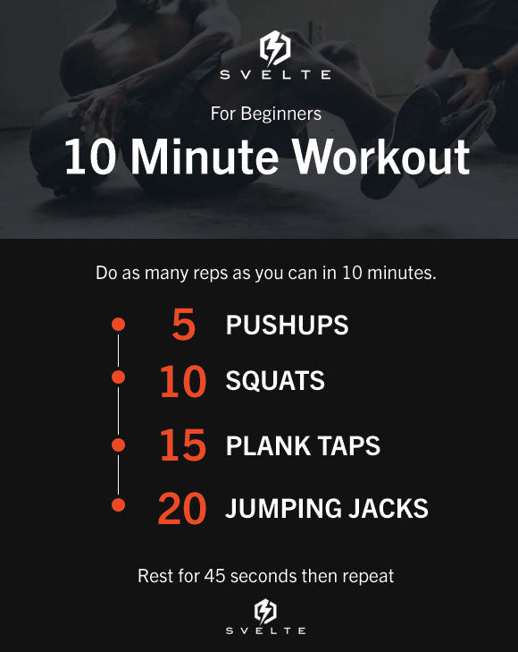 10 Minute Workout Routine