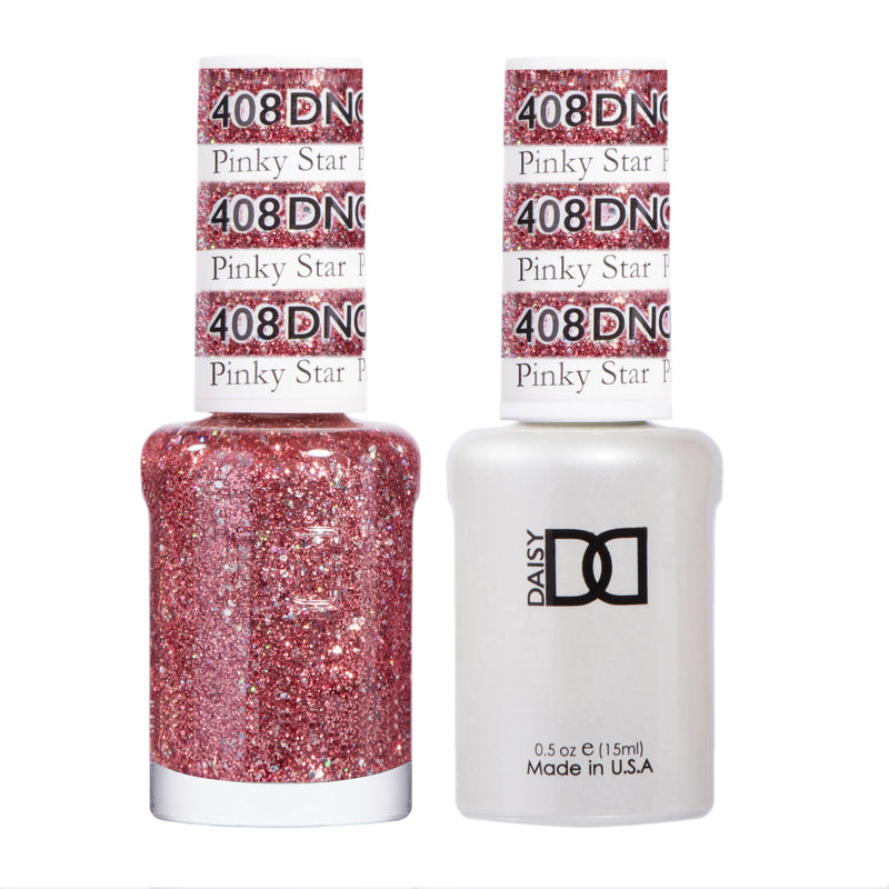 DND408 - DND SOAK OFF GEL 0.5OZ - PINKY STAR