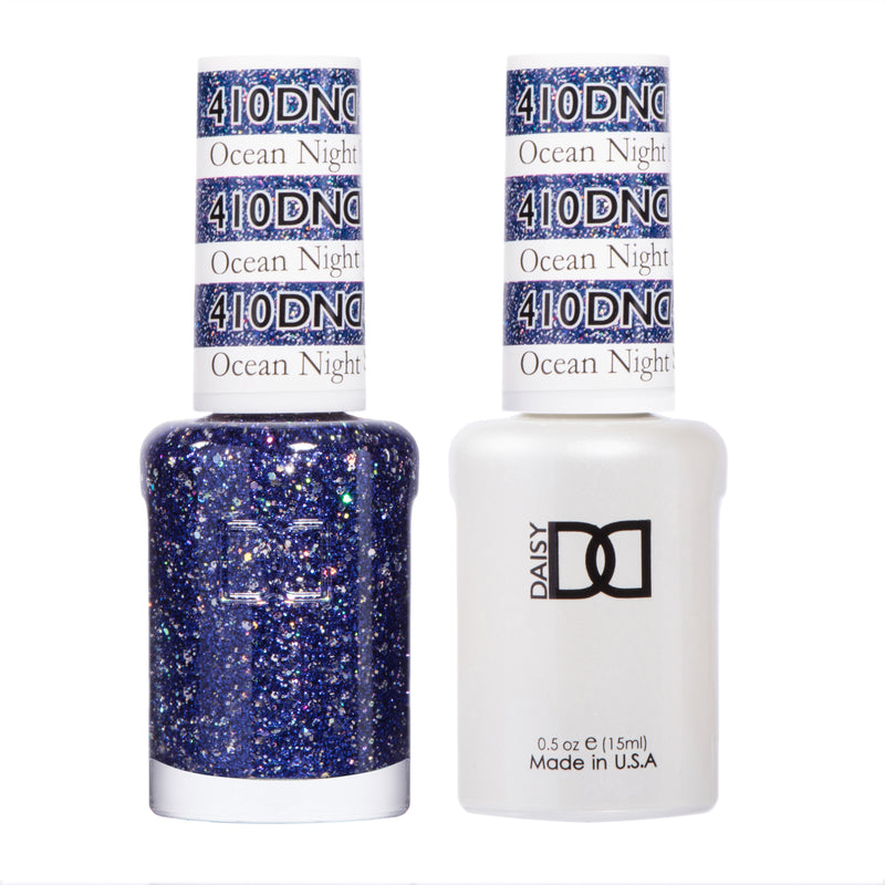 DND410 - DND SOAK OFF GEL 0.5OZ - OCEAN NIGHT STAR