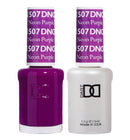 DND507 - DND SOAK OFF GEL 0.5OZ - NEON PURPLE