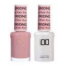 DND590 - DND SOAK OFF GEL 0.5OZ - ROSE WATER