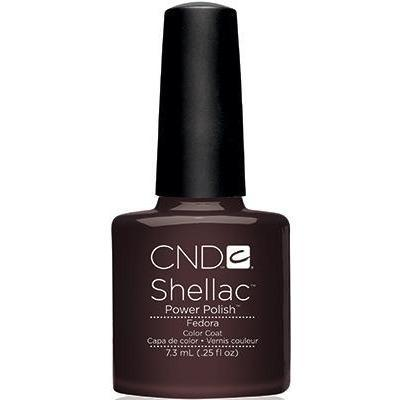 CND SHELLAC GEL POLISH - FEDORA