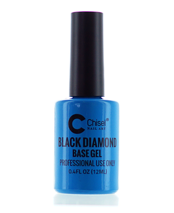 CHISEL BLACK DIAMOND BASE GEL 0.5OZ