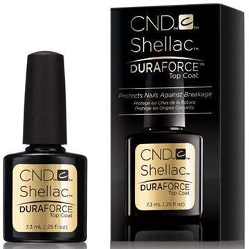 CND SHELLAC - TOP COAT  DURA FORCE (SMALL) 0.25OZ