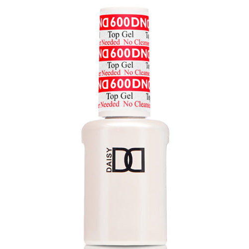 DND600 - DND GEL TOP COAT NO CLEANSE 0.5OZ