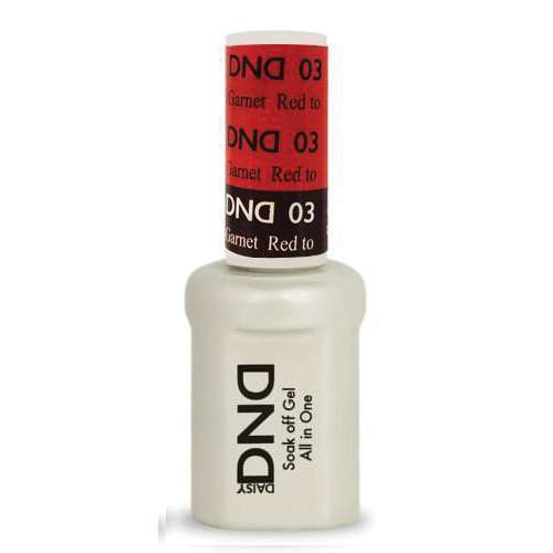 DNDM03 - DND MOOD CHANGE GEL - RED TO GARNET