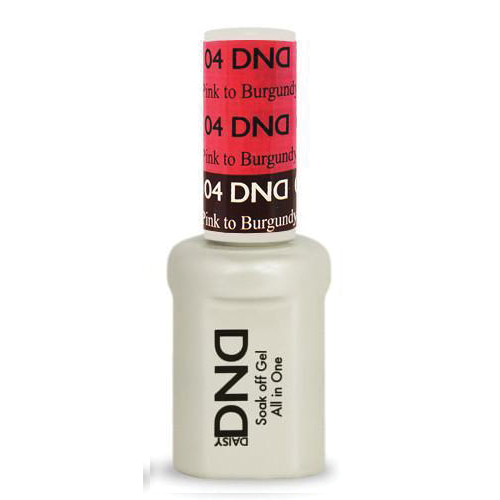 DNDM04 - DND MOOD CHANGE GEL - PINK TO BURGUNDY