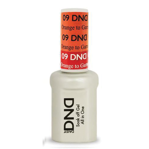 DNDM09 - DND MOOD CHANGE GEL - ORANGE TO GARNET
