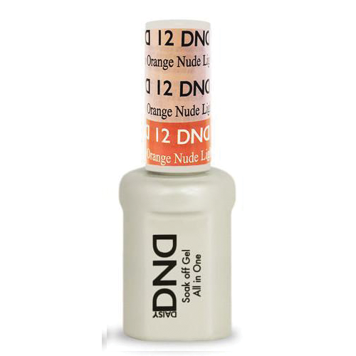 DNDM12 - DND MOOD CHANGE GEL - LIGHT PINK TO ORANGE NUDE