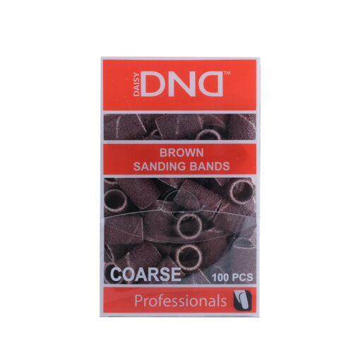 DND SANDING BAND BROWN - COARSE (100pcs)