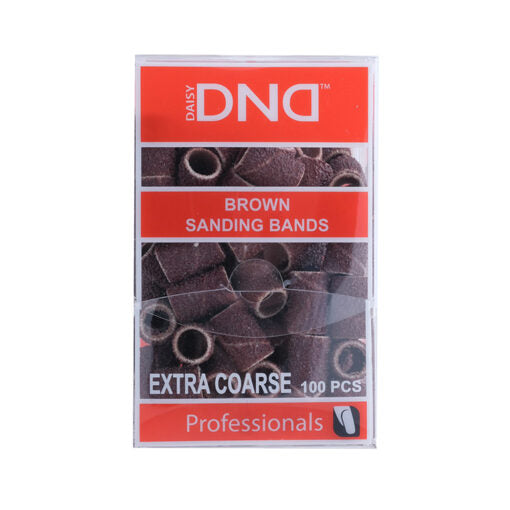 DND SANDING BAND BROWN - EXTRA COARSE (100pcs)