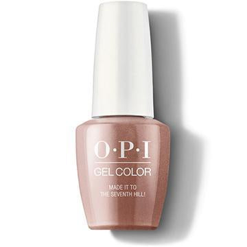 OPI GELCOLOR - MADE IT TO THE SEVENTH HILL!
