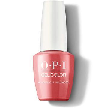 "OPI GELCOLOR - MY ADDRESS IS ""HOLLYWOOD"""