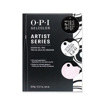 GP902 -  ARTIST SERIES DESIGN GEL TRIAL KIT DEFINING COLORS (3 COLORS)