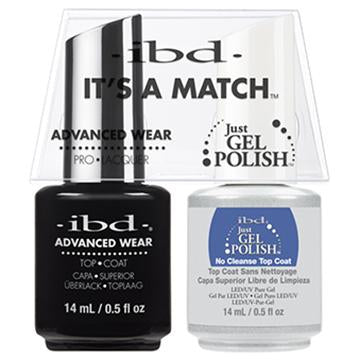 IBD DUO - NO CLEANSE TOP COAT