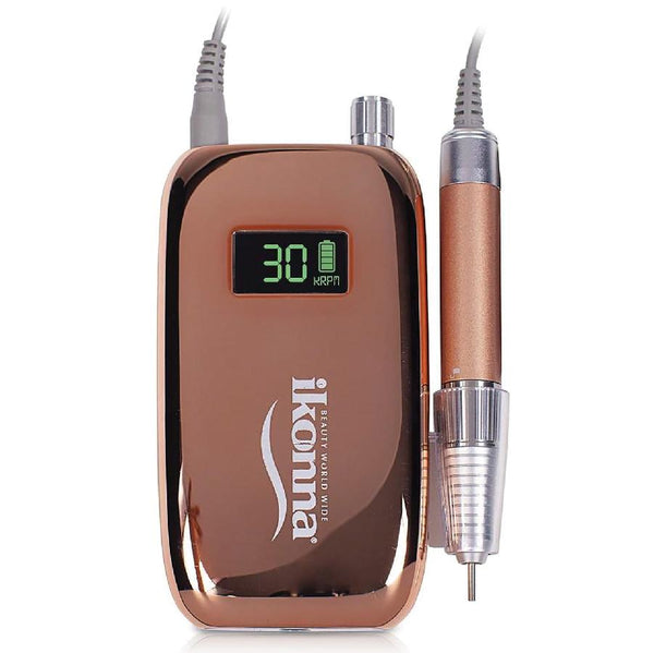 IP-DXR - IKONNA MODEL 10 ROSE GOLD RECHARGEABLE NAIL DRILL