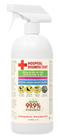HOSPITAL DISINFECTANT KILLS UP TO 99.9% OF VIRUS AND BACTERIA 32 OZ SPRAY BOTTLE - MADE IN USA
