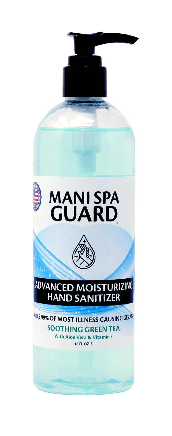 MS01 - FDA MANI SPA GUARD 16oz - KILLS UP TO 99.99% OF MOST ILLNESS CAUSING GERMS - MAKE IN USA (NO RETURN, NO EXCHANGE DISINFECTING PRODUCTS)