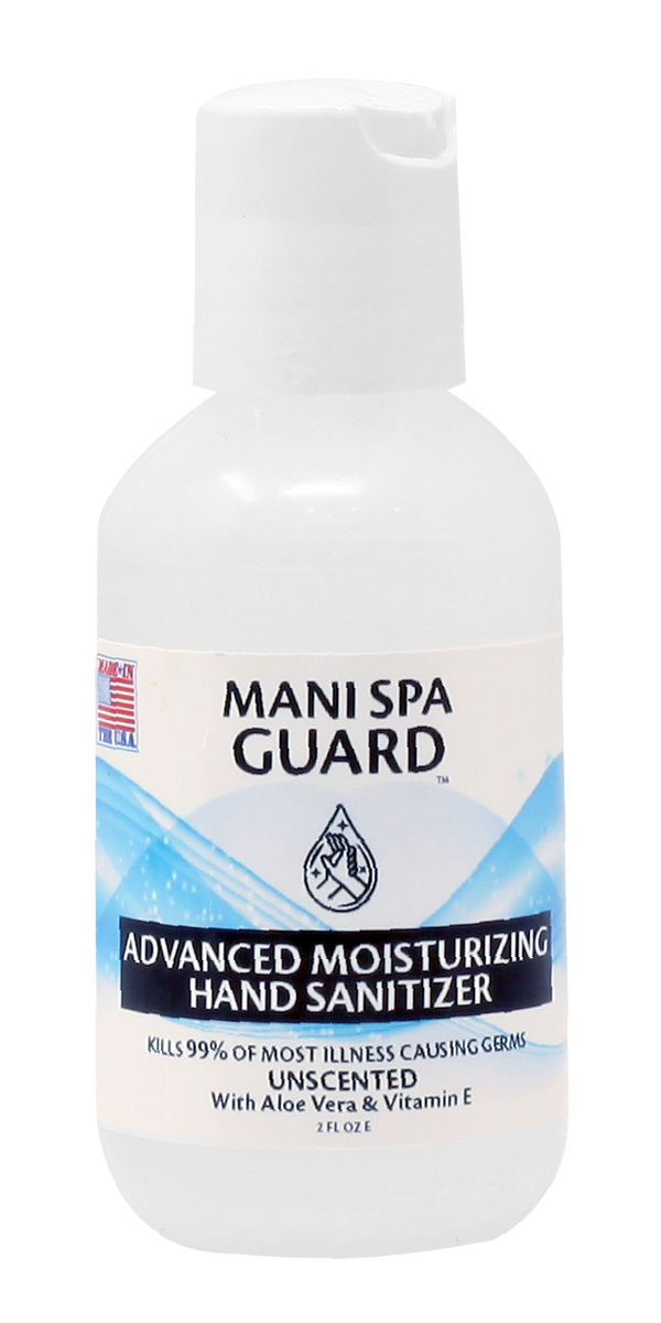 MS02 - FDA MANI SPA GUARD 2oz - KILLS UP TO 99.99% OF MOST ILLNESS CAUSING GERMS - MAKE IN USA (NO RETURN, NO EXCHANGE DISINFECTING PRODUCTS)