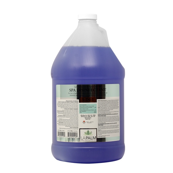 LP004 - LA PALM - 1g SPA DISINFECTANT 5 IN 1  (DISNFECTAT - SANITIZER - FUNGICIDE - VIRUCIDE) (NO RETURN, NO EXCHANGE DISINFECTING PRODUCTS)