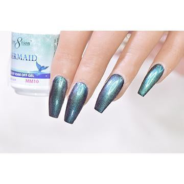 MM10 - CRE8TION MERMAID LED/UV SOAK OFF GEL