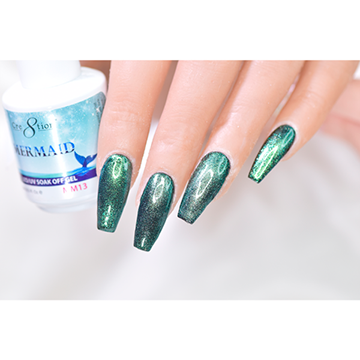 MM13 - CRE8TION MERMAID LED/UV SOAK OFF GEL