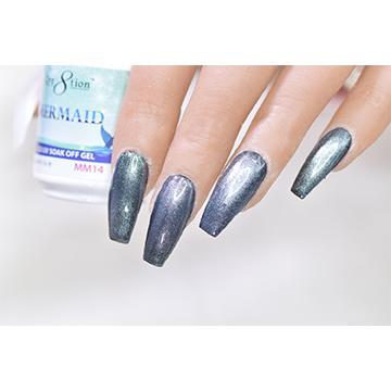MM14 - CRE8TION MERMAID LED/UV SOAK OFF GEL