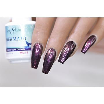MM15 - CRE8TION MERMAID LED/UV SOAK OFF GEL