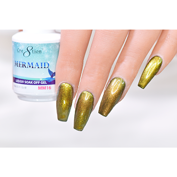 MM16 - CRE8TION MERMAID LED/UV SOAK OFF GEL