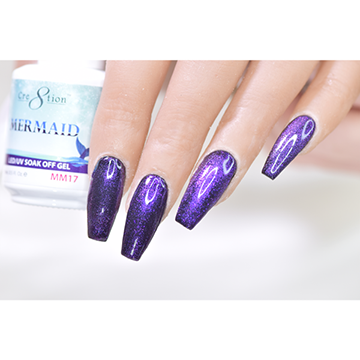 MM17 - CRE8TION MERMAID LED/UV SOAK OFF GEL