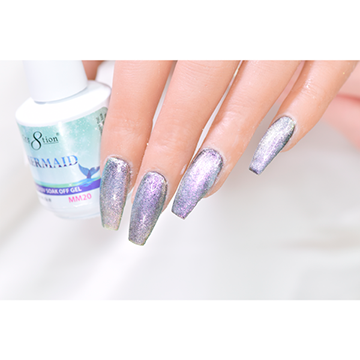 MM20 - CRE8TION MERMAID LED/UV SOAK OFF GEL