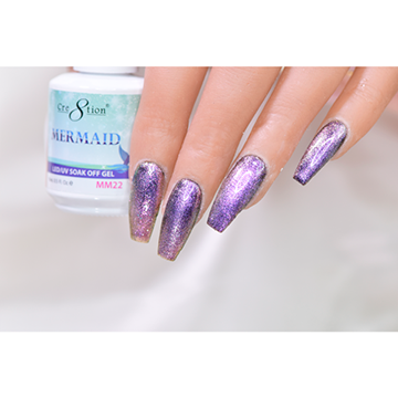 MM22 - CRE8TION MERMAID LED/UV SOAK OFF GEL