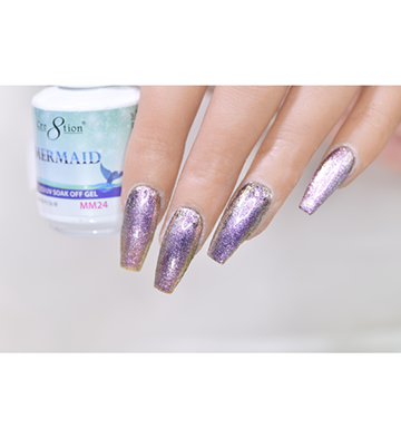 MM24 - CRE8TION MERMAID LED/UV SOAK OFF GEL
