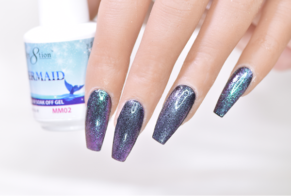 MM02 - CRE8TION MERMAID LED/UV SOAK OFF GEL