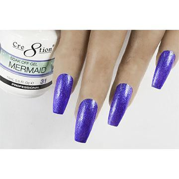 MM31 - CRE8TION MERMAID LED/UV SOAK OFF GEL