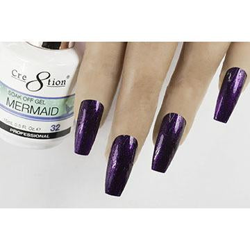 MM32 - CRE8TION MERMAID LED/UV SOAK OFF GEL