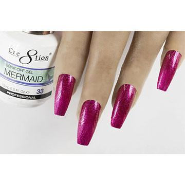 MM33 - CRE8TION MERMAID LED/UV SOAK OFF GEL