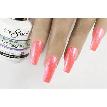 MM34 - CRE8TION MERMAID LED/UV SOAK OFF GEL