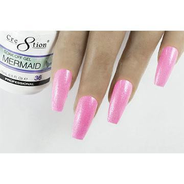 MM36 - CRE8TION MERMAID LED/UV SOAK OFF GEL