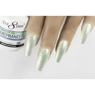MM38 - CRE8TION MERMAID LED/UV SOAK OFF GEL