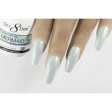 MM39 - CRE8TION MERMAID LED/UV SOAK OFF GEL