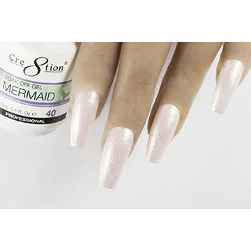 MM40 - CRE8TION MERMAID LED/UV SOAK OFF GEL