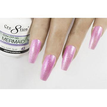 MM44 - CRE8TION MERMAID LED/UV SOAK OFF GEL