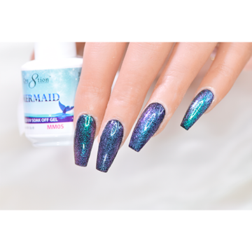 MM05 - CRE8TION MERMAID LED/UV SOAK OFF GEL