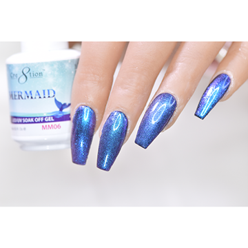 MM06 - CRE8TION MERMAID LED/UV SOAK OFF GEL