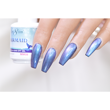 MM08 - CRE8TION MERMAID LED/UV SOAK OFF GEL