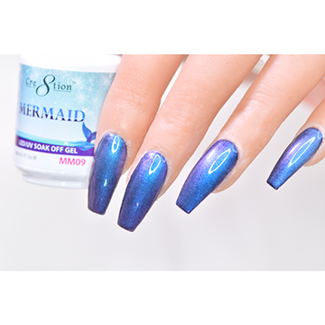 MM09 - CRE8TION MERMAID LED/UV SOAK OFF GEL
